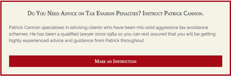 What are the penalties for tax evasion (UK)? by Patrick Cannon 1